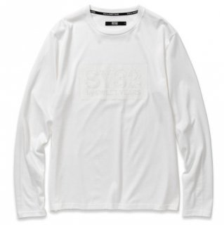 <img class='new_mark_img1' src='https://img.shop-pro.jp/img/new/icons14.gif' style='border:none;display:inline;margin:0px;padding:0px;width:auto;' />BOX LOGO L/S TEE White×White