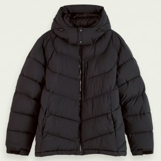 <img class='new_mark_img1' src='https://img.shop-pro.jp/img/new/icons14.gif' style='border:none;display:inline;margin:0px;padding:0px;width:auto;' />Mid-length padded jacket Night