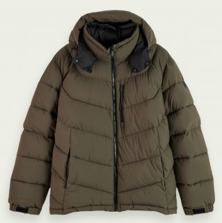 <img class='new_mark_img1' src='https://img.shop-pro.jp/img/new/icons14.gif' style='border:none;display:inline;margin:0px;padding:0px;width:auto;' />Mid-length padded jacket Military