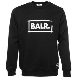 ボーラー / スウェット / CHALK STRAIGHT CREW NECK Black