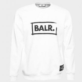 ボーラー / スウェット / CHALK STRAIGHT CREW NECK White