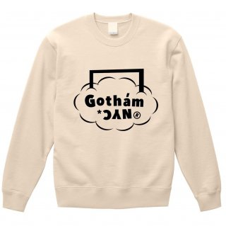<img class='new_mark_img1' src='https://img.shop-pro.jp/img/new/icons14.gif' style='border:none;display:inline;margin:0px;padding:0px;width:auto;' />GOTHAM.NYC / GN705 / クルーネックスウェット Ivory