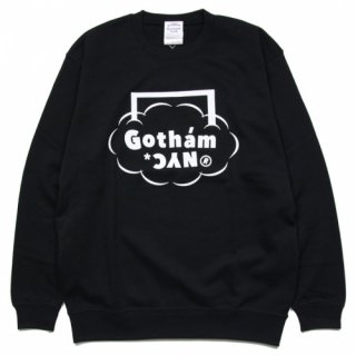 <img class='new_mark_img1' src='https://img.shop-pro.jp/img/new/icons14.gif' style='border:none;display:inline;margin:0px;padding:0px;width:auto;' />GOTHAM.NYC / GN705 / クルーネックスウェット Black