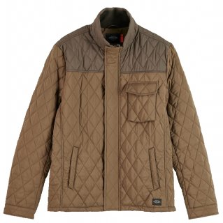 <img class='new_mark_img1' src='https://img.shop-pro.jp/img/new/icons14.gif' style='border:none;display:inline;margin:0px;padding:0px;width:auto;' />Shorter length quilted jacket Military