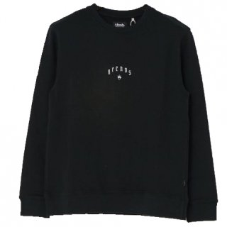 Afends Steel Pull Over Sweat Black