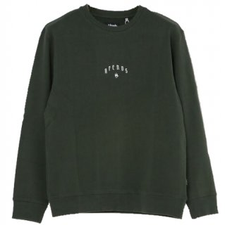 Afends Steel Pull Over Sweat Khaki