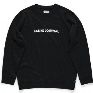BANKS JOURNAL LABEL CREW Fleece