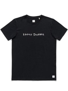 <img class='new_mark_img1' src='https://img.shop-pro.jp/img/new/icons13.gif' style='border:none;display:inline;margin:0px;padding:0px;width:auto;' />BANKS JOURNAL DUNKWELL LABEL TEE SHIRT Dirty Black