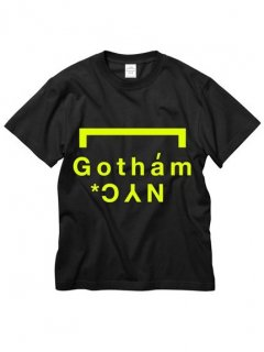 <img class='new_mark_img1' src='https://img.shop-pro.jp/img/new/icons14.gif' style='border:none;display:inline;margin:0px;padding:0px;width:auto;' />GOTHAM.NYC / GN801 / LOGO-TS / col.BLACK-NEON YELLOW