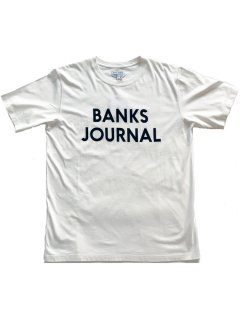 <img class='new_mark_img1' src='https://img.shop-pro.jp/img/new/icons13.gif' style='border:none;display:inline;margin:0px;padding:0px;width:auto;' />BANKS JOURNAL JOURNAL Tee OFF WHITE