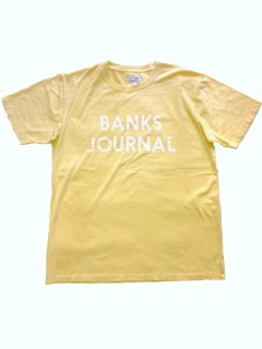 <img class='new_mark_img1' src='https://img.shop-pro.jp/img/new/icons13.gif' style='border:none;display:inline;margin:0px;padding:0px;width:auto;' />BANKS JOURNAL JOURNAL Tee LIGHT LEMON