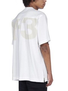 <img class='new_mark_img1' src='https://img.shop-pro.jp/img/new/icons8.gif' style='border:none;display:inline;margin:0px;padding:0px;width:auto;' />Y-3 CLASSIC PAPER JERSEY SS TEE White