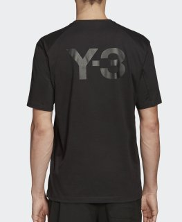 <img class='new_mark_img1' src='https://img.shop-pro.jp/img/new/icons8.gif' style='border:none;display:inline;margin:0px;padding:0px;width:auto;' />Y-3 CLASSIC PAPER JERSEY SS TEE Black