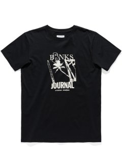 <img class='new_mark_img1' src='https://img.shop-pro.jp/img/new/icons14.gif' style='border:none;display:inline;margin:0px;padding:0px;width:auto;' />BANKS JOURNAL WEIRY PALMS Tee DIRTY BLACK