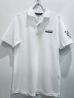 <img class='new_mark_img1' src='https://img.shop-pro.jp/img/new/icons14.gif' style='border:none;display:inline;margin:0px;padding:0px;width:auto;' />SY32 SKIPPER POLO SHIRTS White