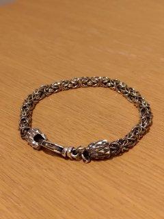 Emanuele Bicocchi Silver Chain Braided Bracelet