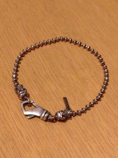 Emanuele Bicocchi Silver Throttle Chain Bracelet