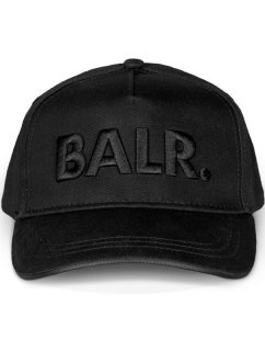 BALR. CLASSIC COTTON CAP Black On Black