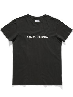 <img class='new_mark_img1' src='https://img.shop-pro.jp/img/new/icons14.gif' style='border:none;display:inline;margin:0px;padding:0px;width:auto;' />BANKS JOURNAL LABEL PRIMARY Tee DIRTY BLACK