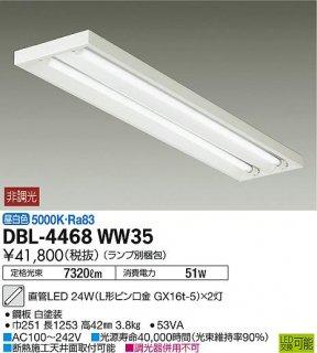 DBL-4468WW35 (ランプ別梱包) ベースライト 大光電機(DAIKO)