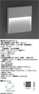 39-50051-01-91 (OP01289-70付)  屋外灯 LED マックスレイ(MAXRAY)