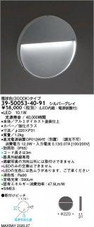 39-50053-40-91 (OP01289-70付)  屋外灯 LED マックスレイ(MAXRAY)