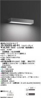 39-50055-40-91 (OP01289-70付)  屋外灯 LED マックスレイ(MAXRAY)