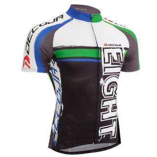 DECOJA サイクルジャージ 半袖 EIGHT(28142)[送料無料] サイクルウェア 自転車ウェア サイクルジャージ