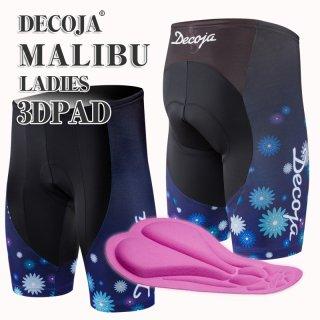 DECOJA レディースパンツ キッズ Malibu【マリブ】 日本製(31006)[送料無料] サイクルウェア 自転車ウェア サイクルジャージ