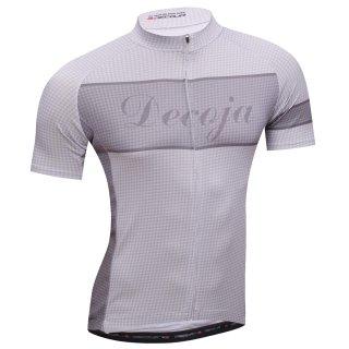 DECOJA サイクルジャージ 半袖 千鳥(31325)[送料無料] サイクルウェア 自転車ウェア サイクルジャージ