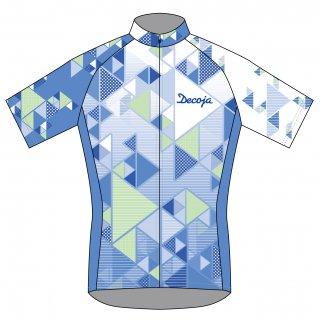DECOJA サイクルジャージ 半袖 デルタ(31400)[送料無料] サイクルウェア 自転車ウェア サイクルジャージ