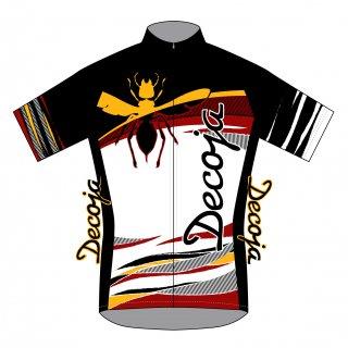 DECOJA サイクルジャージ 半袖 Hornet(31399)[送料無料] サイクルウェア 自転車ウェア サイクルジャージ