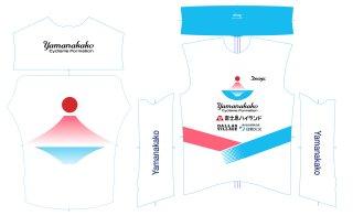 山中湖サイクリングチームレプリカ ウインドベスト(31633)