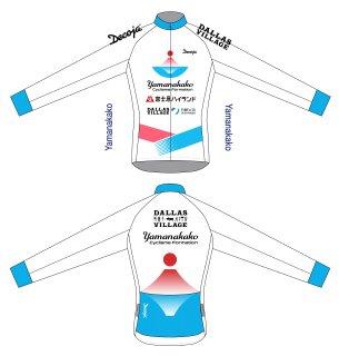 山中湖サイクリングチームレプリカジャージ 冬長袖(31631)
