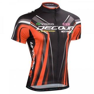 DECOJA サイクルジャージ レーシングタイプ 半袖 GAIA (32423)[送料無料] サイクルウェア 自転車ウェア サイクルジャージ