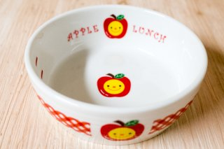 リンゴの食器 L