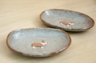 豆皿コーギー* - haru*物 -