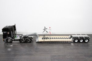 【取り寄せ】ローボーイトレーラー フルメタルモデル完成品