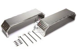 2軸用ステンレス製縞板鋼板リアフェンダー