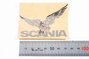 SCANIA用 クロームイーグルステッカー L
