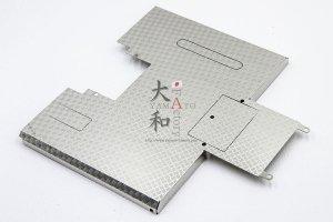 ステンレス縞板リアデッキ  MAN TGX 26.540 6X4 用