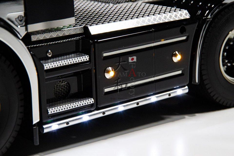 汎用 LED丸形サイドバンパー