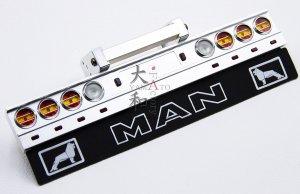 MAN用 アルミ丸形テールライトバンパーキット