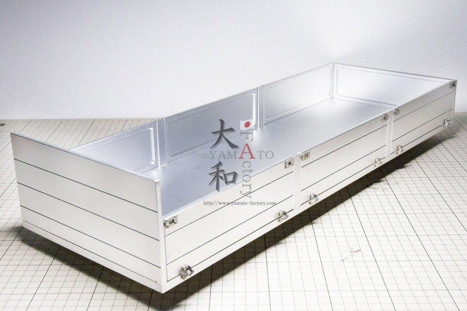 【取り寄せ】アルミ製アオリ付きキャリアーキット
