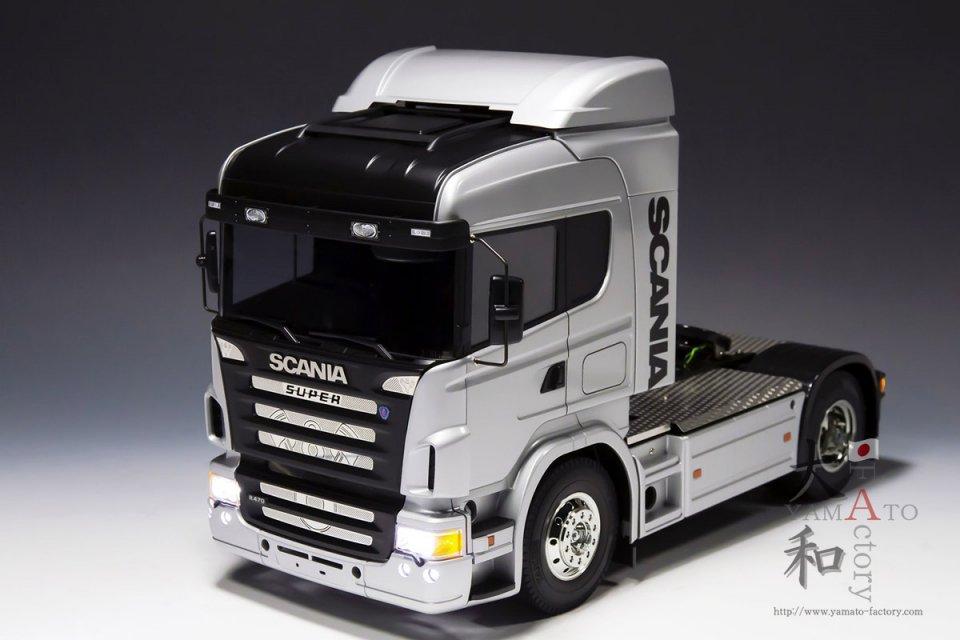 【受注生産】TAMIYA 1/14 SCANIA R470 オプション付き完成品 大和Factory製作車両