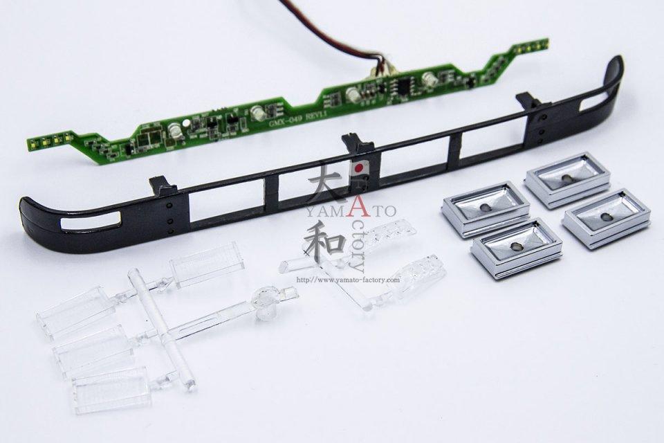 角型4灯SMDマーカーサンブラインドライトキット