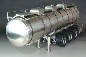 【取り寄せ】 ステンレス3軸タンクトレーラー