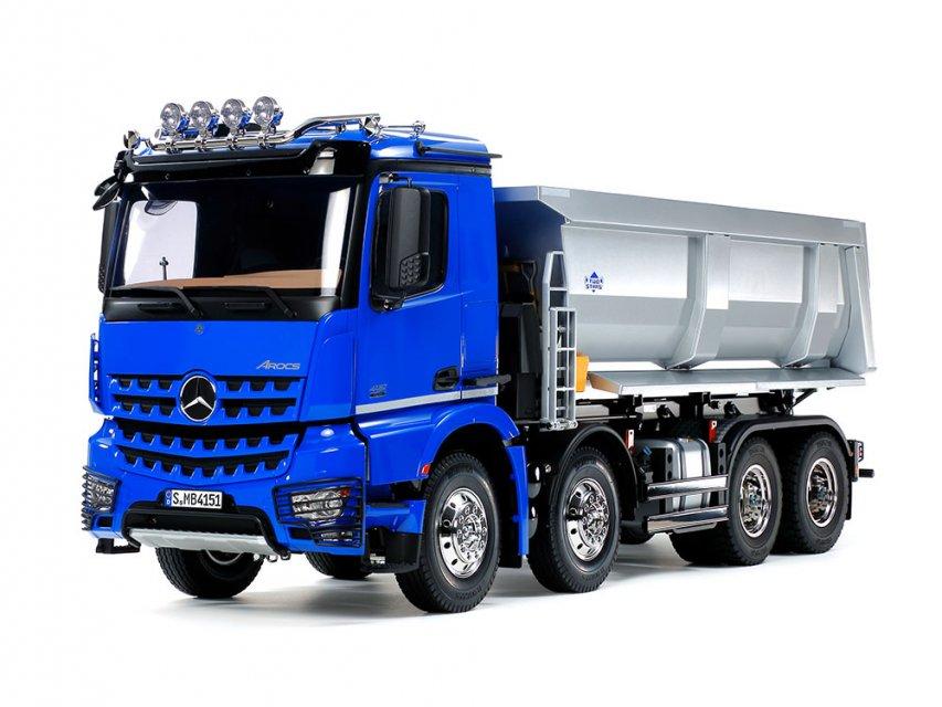 【期間限定30%OFF特価】タミヤ1/14RC メルセデス・ベンツ アロクス 4151 8x4 ダンプトラック 完成品セット