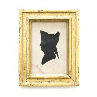 1900年代 アンティーク シルエット アート 影絵 切り絵 アメリカ