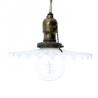 1940's ミルクシェード ハンギングライト Milk Shade Hanging Light